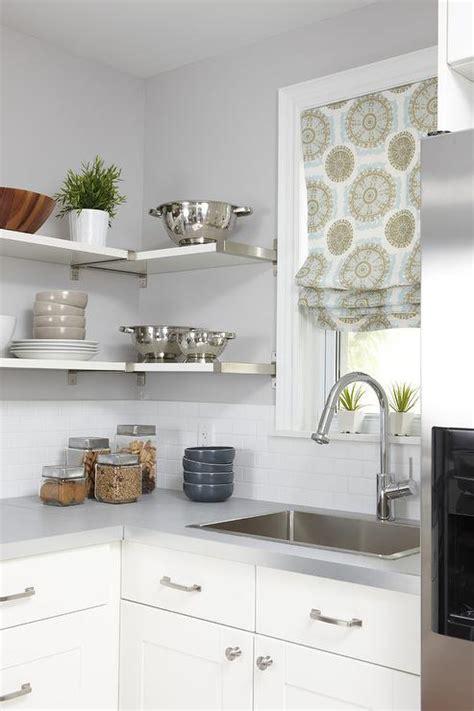 ikea ekby mossby shelf transitional kitchen
