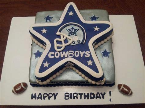 dallas cowboys happy birthday cake cakepinscom dads