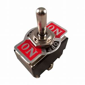 Metal Rocker Toggle Switch Heavy Duty 6 Pin Dpst On