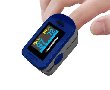 Buy Choicemed Finger Pulse Oximeter Canada | AgeComfort.com