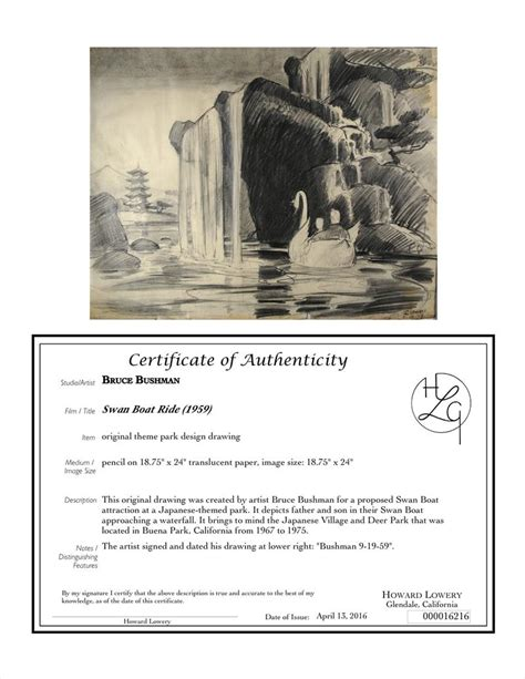 Boat Ride Drawing by Auction Howardlowery Bruce Bushman Swan Boat Ride