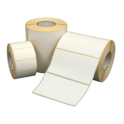 Etikett 50 x 30 mm  Transferpapier weiß permanent 1100