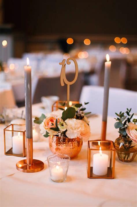 Tischdeko Scheune by Dekoration Tischdeko Kupfer Rustikal Hochzeit
