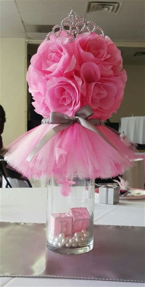 baby girl shower centerpieces best 25 princess party centerpieces ideas on