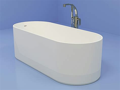 vasca da bagno ceramica vasca da bagno ovale in pietraluce 174 oval linea oval by