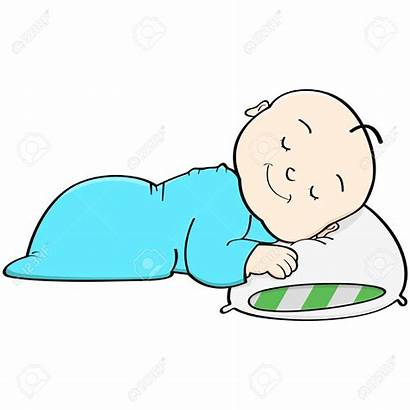 Sleeping Cartoon Clipart Nap Head Illustration Vector