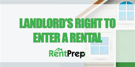 free notice to enter rental property form ultimate guide to understanding a landlord s right to