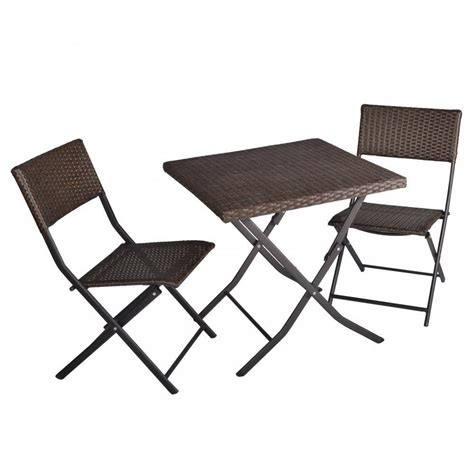 Outdoor Table And Chairs Set by 3 Table And Chairs Patio Deck Outdoor Bistro Cafe
