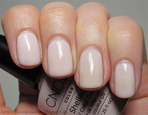 romantique shellac nude nails nails pinterest
