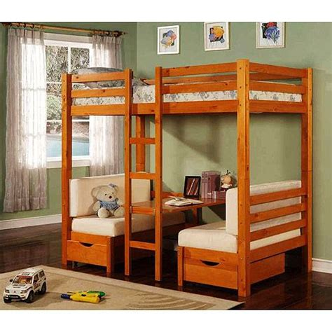 kids loft beds walmart table convertible bunk bed