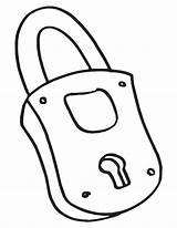 Lock Key Coloring Drawing Padlock Outline Pages Getdrawings Line Keyboard Drawings Clipartmag sketch template