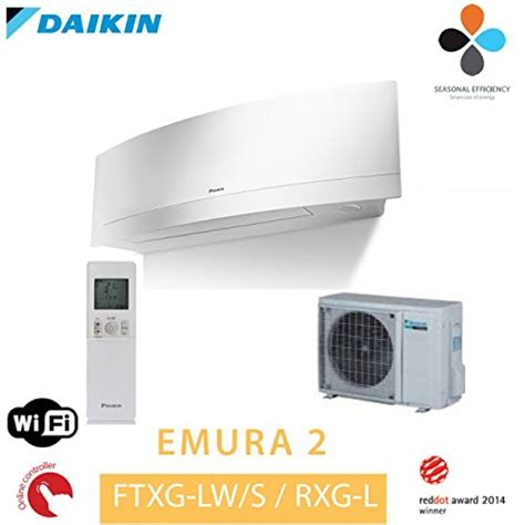 Daikin Klimaanlage Test by Daikin Emura Ftxg20lw Rxg20l Ii Splitklimaanlage Info