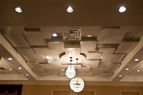 drop ceiling decoration contemporary hall chicago