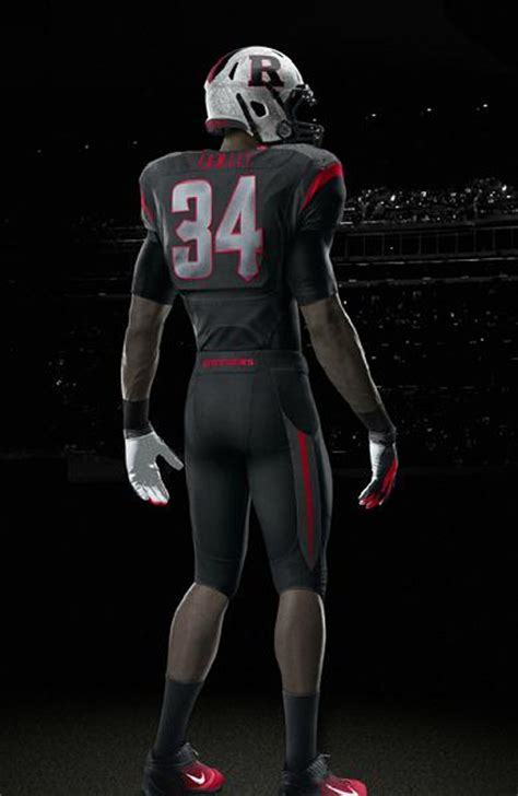 rutgers unveils  football uniforms big east coast bias