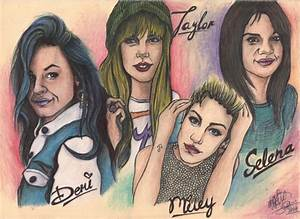 StarsPortraits - Retratos de Selena Gomez, Miley Cyrus ...
