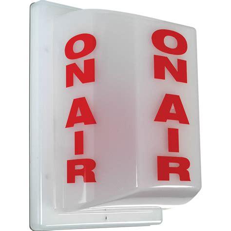 studio on air light tecnec fsl 1 triple sided on air studio warning light fsl