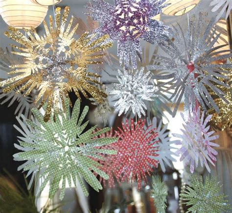 fancy paper snowflakes allfreechristmascraftscom