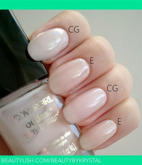 covergirl  frosted  essie ballet slippers
