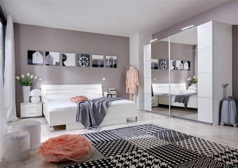 id馥 d馗o chambre adulte design chambre adulte compl 232 te design coloris blanc alpin mavrick