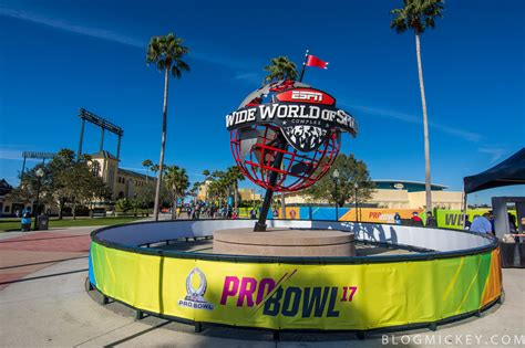 Photos  The Pro Bowl Experience Comes To Espn Wide World