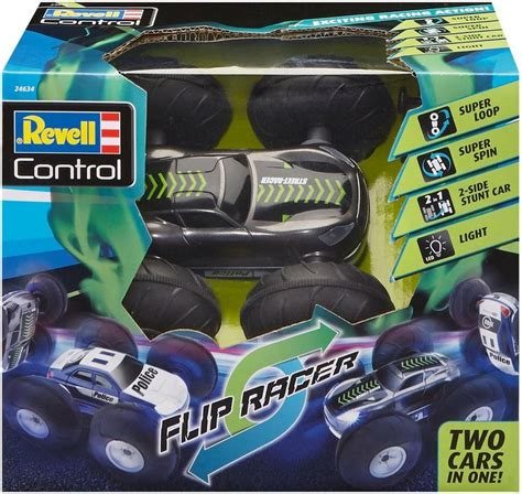 led beleuchtung auto revell rc auto mit led beleuchtung 187 revell 174 stunt car flip racer 27 mhz 171