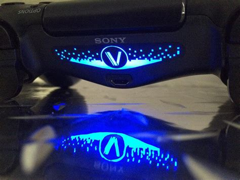 ps4 controller light stickers ps4 dualshock 4 light bar decals your sign here technabob