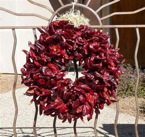 photograph  red chile wreath pinterest photographs