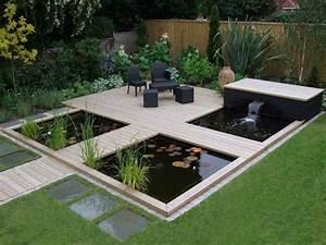 Bassin De Terrasse : d co terrasse bassin ~ Premium-room.com Idées de Décoration