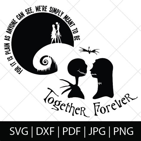 Free Svg Files For Cricut Nightmare Before Christmas  – 356+ SVG File for Cricut