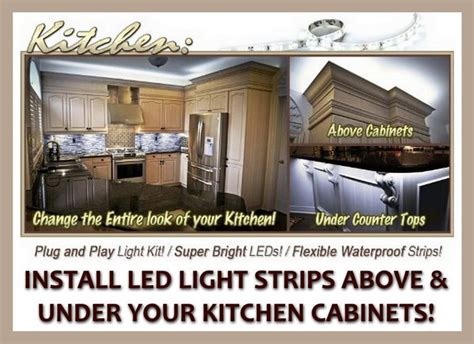 how to install led strip lights under cabinets what led light strips or ropes are best to install under