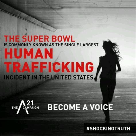 The Shocking Truth Human Trafficking Pinterest The O