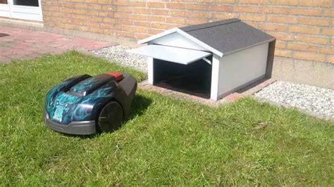 Garage Bekleben by Hus Til Robotpl 230 Neklipper En God Investering Farveflora