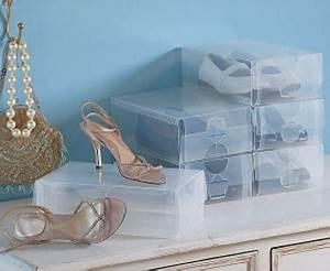 Soldes Deco Maison : boite rangement chaussure pvc transparent ~ Teatrodelosmanantiales.com Idées de Décoration