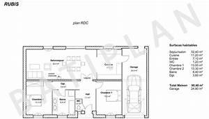 plans et permis de construirenotre plan de maison rubis With maison a construire plan