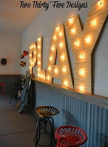 33 best garage barn images on pinterest children garage With play marquee letters