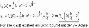 Schnittpunkt Y Achse Berechnen : l sungen zu parameteraufgaben zur differential und ~ Themetempest.com Abrechnung