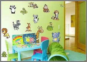 Wandtattoo Tiere Kinderzimmer : wandtattoo kinderzimmer tiere set kinderzimme house ~ Watch28wear.com Haus und Dekorationen