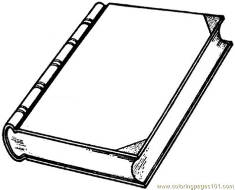 New Interesting Book Coloring Page
