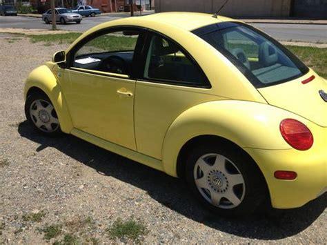 2000 Volkswagen Beetle 1 8 Turbo by Buy Used 2000 Volkswagen Beetle Gls Hatchback 1 8l Turbo