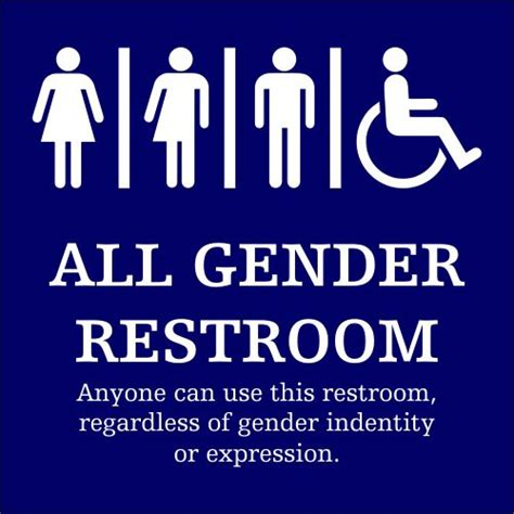 Gender Neutral Bathroom Signs by 25 Best Ideas About All Gender Restroom On