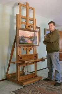 Wood Artist Easel Plans - WoodWorking Projects & Plans