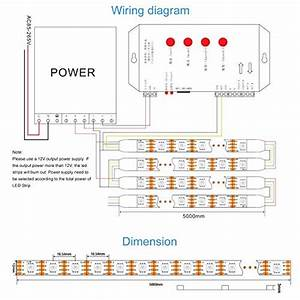 Led Strip Wiring Diagram 12v