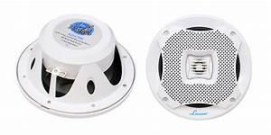 Amazon.com: Lanzar Marine Speakers - 5.25 Inch 2 Way Water ...