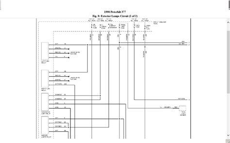 1997 Peterbilt Fuse Box Diagram by Peterbilt 377 Fuse Box Wiring Library