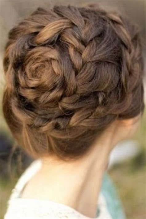 and easy hair styles for hair 9 best braided updos images on bridal 5725