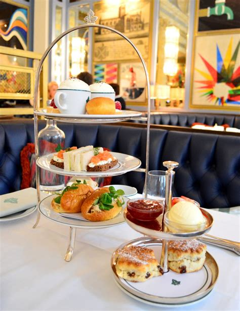 Sal's Kitchen Reviews Afternoon Tea At The Ivy Bath