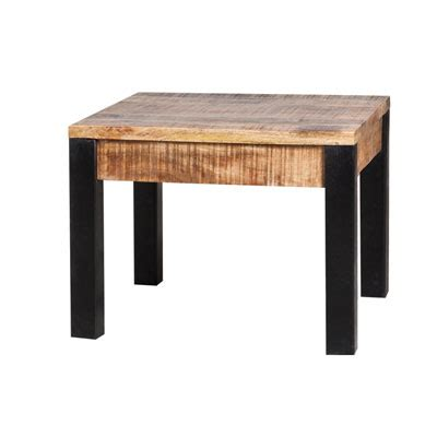 table en bois carre maison design modanes