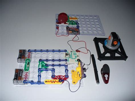 How Build Laser Tripwire Alarm With Snap Circuits