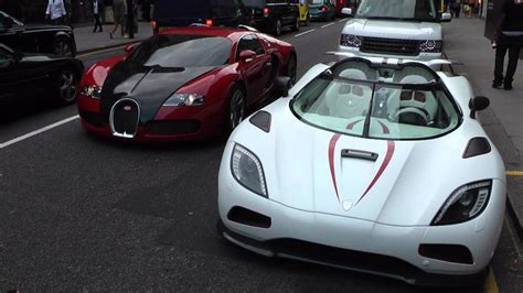 In august of 2017, bugatti, using the 1500 hp bugatti chiron driven by race car driver juan pablo montoya set a world record for the 0km/h to 400km/h. Koenigsegg Agera R or Bugatti Veyron - YouTube