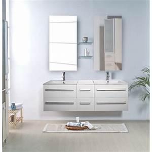 Meuble Salle De Bain Double Vasque Pas Cher : meuble salle de bain double vasque ~ Teatrodelosmanantiales.com Idées de Décoration
